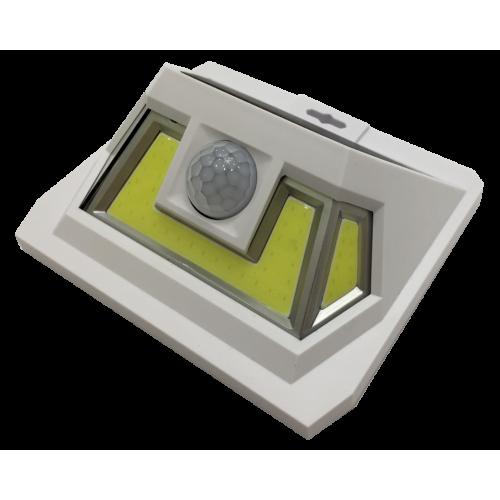 для сада и дачи - LED настенный светильник на солнечной батарее VARGO 8W COB бел. 000000600 - Фото 1