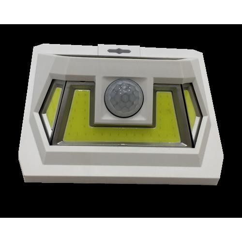 для сада и дачи - LED настенный светильник на солнечной батарее VARGO 8W COB бел. 000000600 - Фото 2