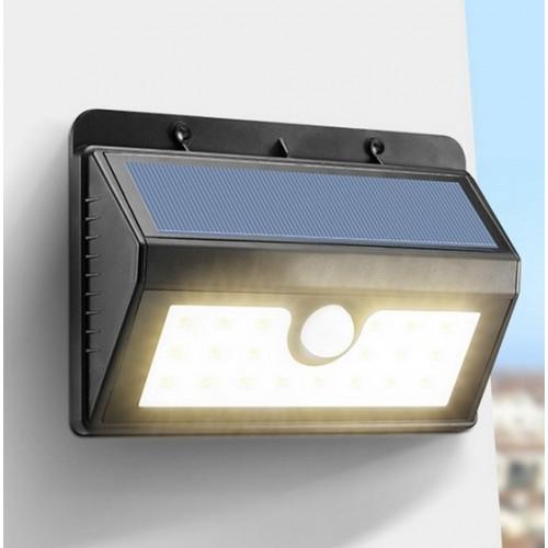 для сада и дачи - LED настенный светильник на солнечной батарее VARGO 9W SMD 000000602 - Фото 2