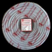 Телевизионный (коаксиальный) кабель гермет. фольга белый 000000809 5