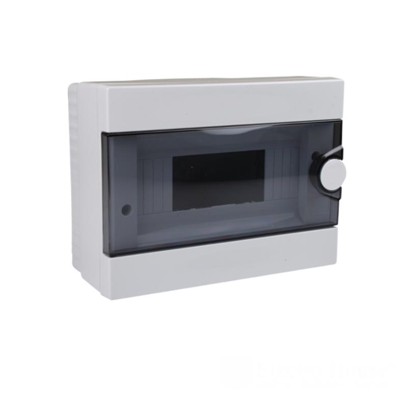 Модульные электрощиты - Бокс пластиковый модульный для наружной установки на 9 модулей 000000934 - Фото 1