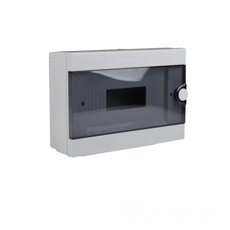 Модульные электрощиты - Бокс пластиковый модульный для наружной установки на 12 модулей 000000935 - Фото 1