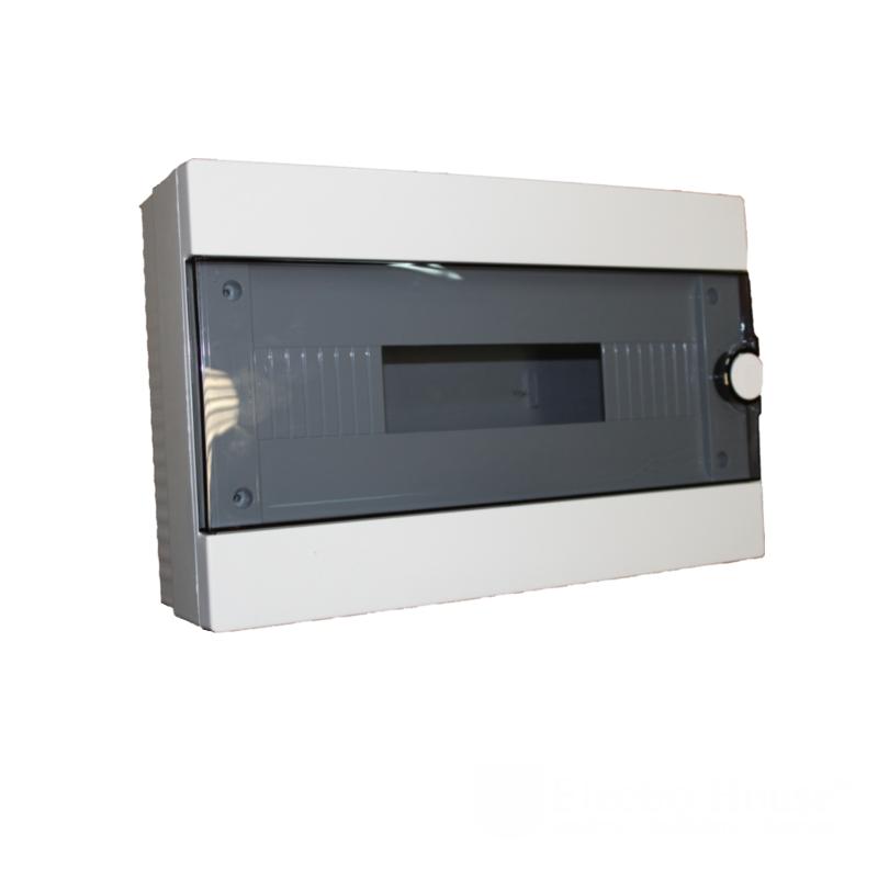 Модульные электрощиты - Бокс пластиковый модульный для наружной установки на 16 модулей 000000936 - Фото 1