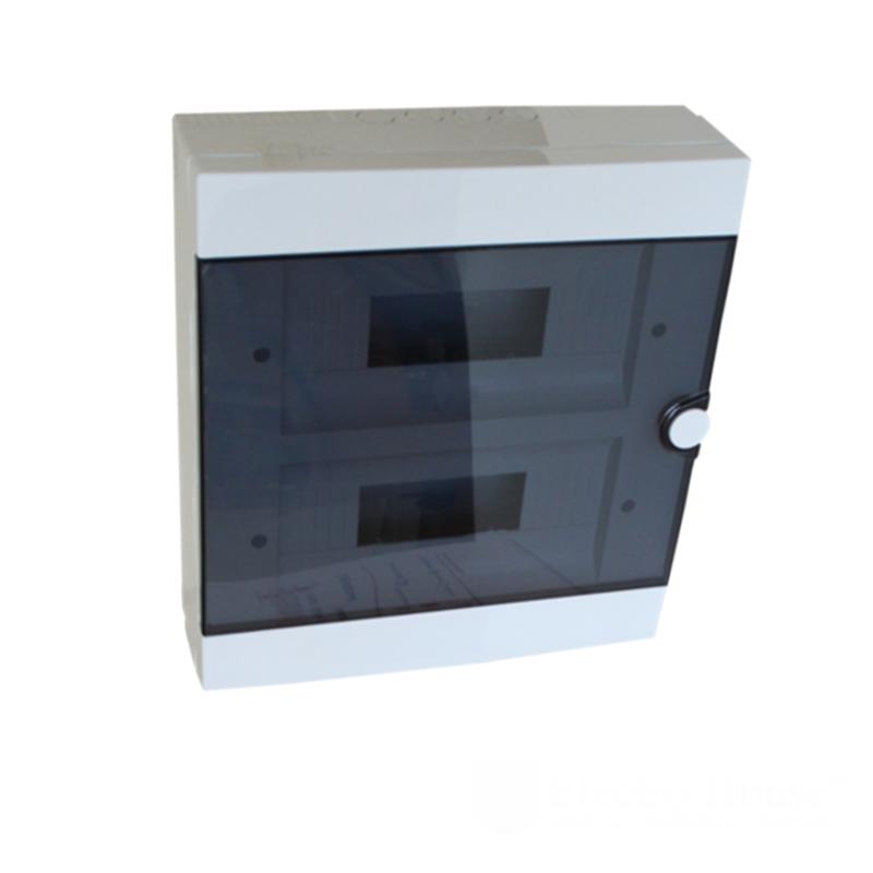 Модульные электрощиты - Бокс пластиковый модульный для наружной установки на 24 модулей 000000937 - Фото 1