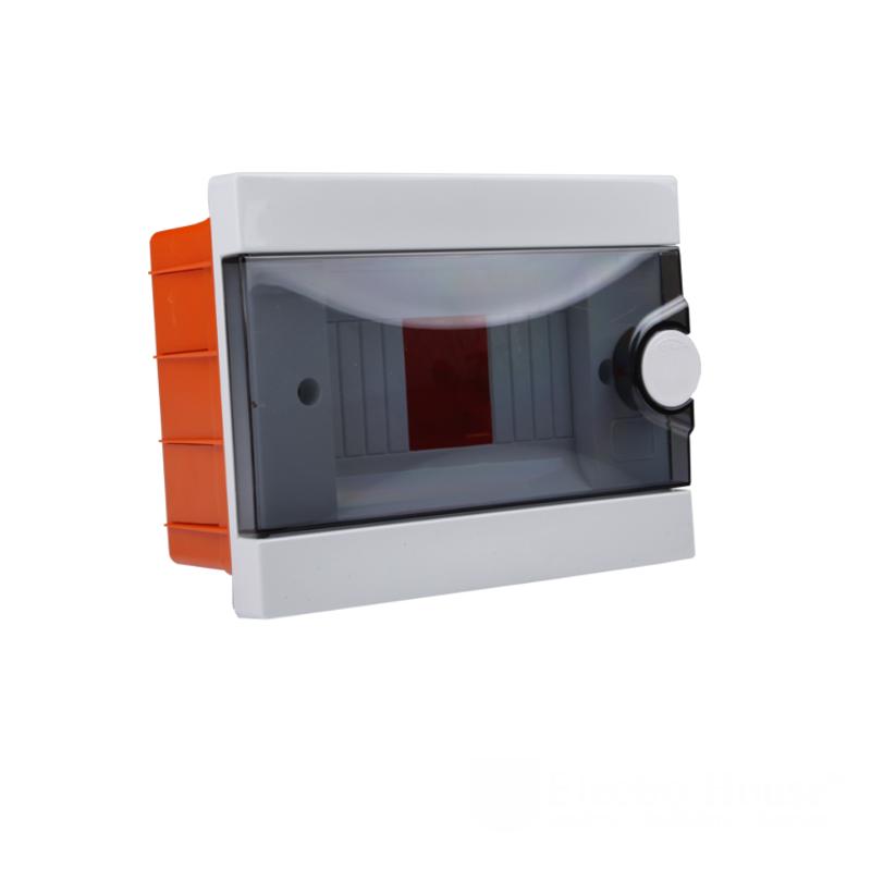 Модульные электрощиты - Бокс пластиковый модульный для внутренней установки на 2-6 модулей 000000939 - Фото 1