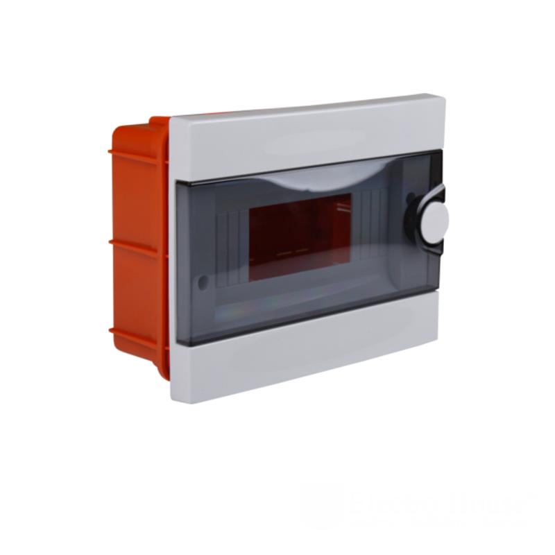 Модульные электрощиты - Бокс пластиковый модульный для внутренней установки на 9 модулей 000000940 - Фото 1