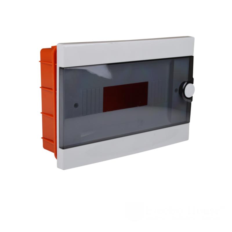 Модульные электрощиты - Бокс пластиковый модульный для внутренней установки на 12 модулей 000000941 - Фото 1