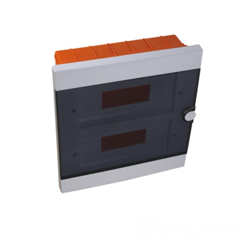 Модульные электрощиты - Бокс пластиковый модульный для внутренней установки на 24 модулей 000000943 - Фото 1
