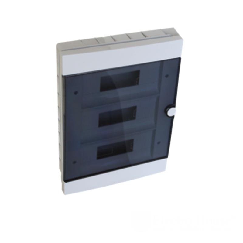 Модульные электрощиты - Бокс пластиковый модульный для внутренней установки на 36 модулей 000000944 - Фото 1