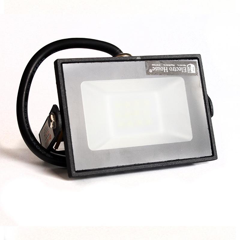Прожекторы светодиодные LED - LED прожектор 10W 6000K 900LmI P65 000001029 - Фото 1