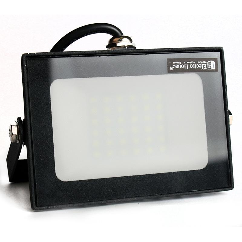 Прожекторы светодиодные LED - LED прожектор 30W 6000K 2700Lm IP65 000001032 - Фото 1