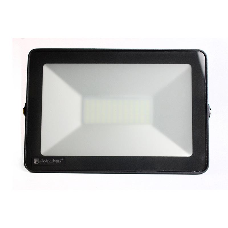 Прожекторы светодиодные LED - LED прожектор 50W 6000K 4500Lm IP65 000001033 - Фото 1