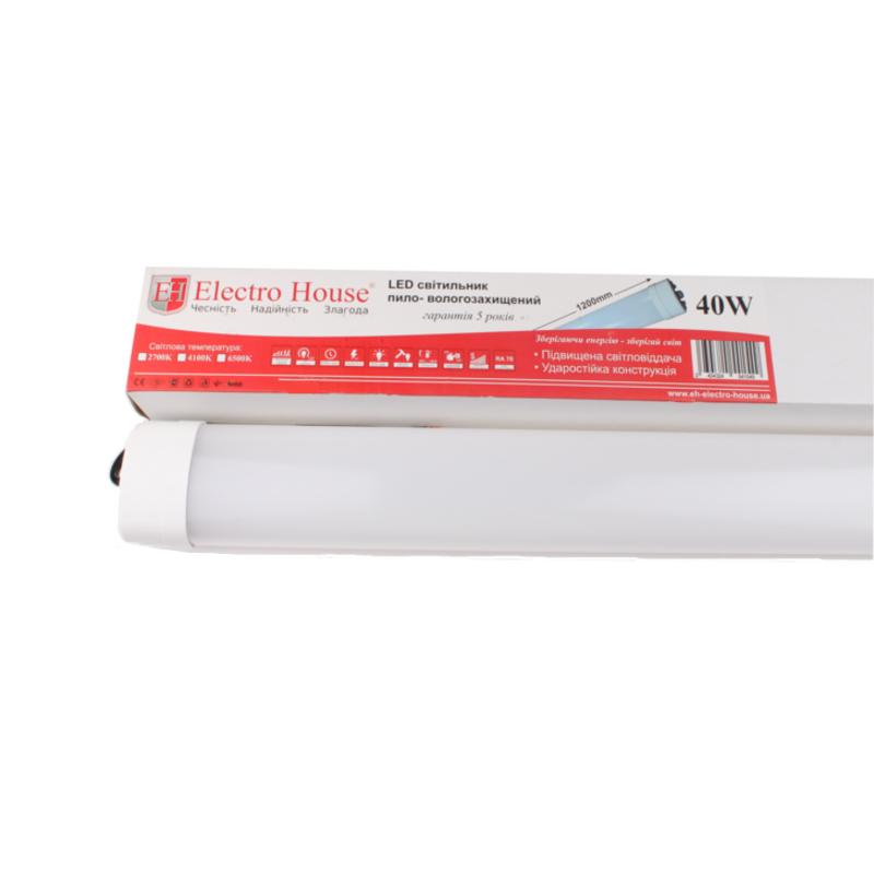 Пылевлагозащищенные светильники и корпуса IP65 - LED светильник ПВЗ 60W 1200мм 6500K IP65 000000904 - Фото 1