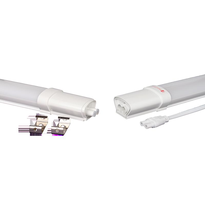 Пылевлагозащищенные светильники и корпуса IP65 - Светильник ПВЗ модульный 40W 1200 мм 6500K IP65 000000906 - Фото 1