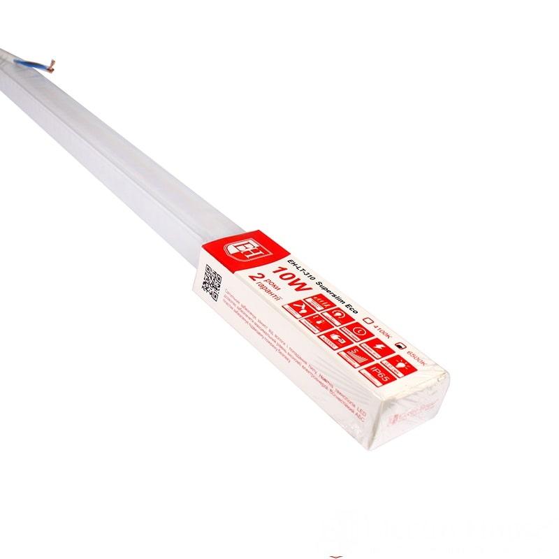 Пылевлагозащищенные светильники и корпуса IP65 - LED светильник ПВЗ  10W 600мм  6500K 800Lm IP65 000000896 - Фото 1