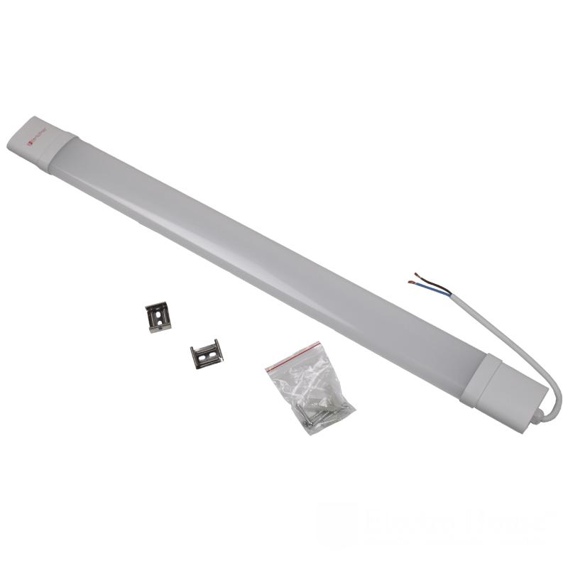 Пылевлагозащищенные светильники и корпуса IP65 - LED светильник ПВЗ 20W 610мм 6500K IP65 000000900 - Фото 1