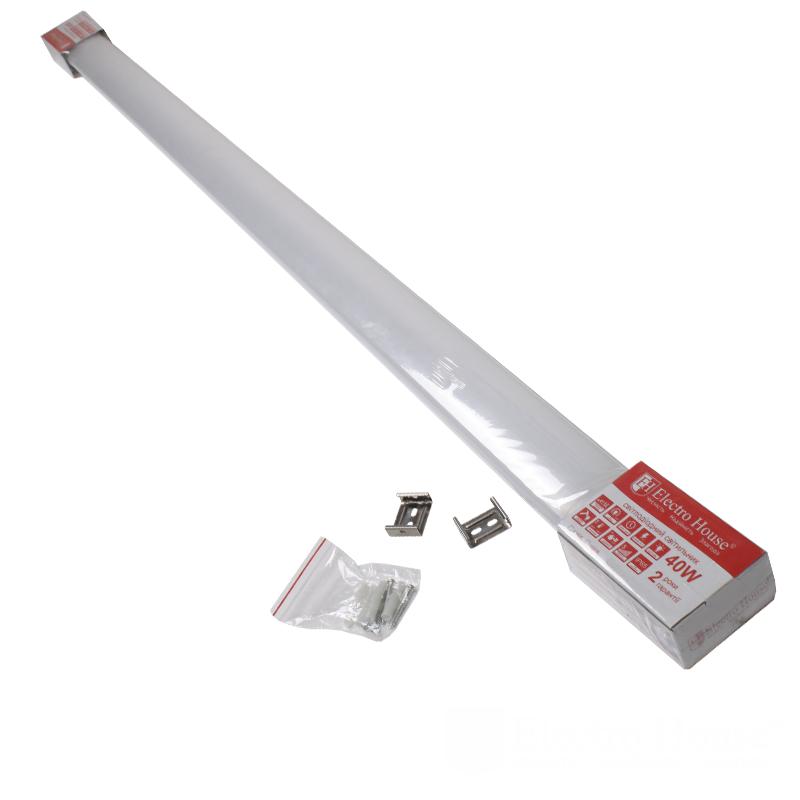 Пылевлагозащищенные светильники и корпуса IP65 - LED светильник ПВЗ 40W 1210мм 6500K IP65 000000901 - Фото 1