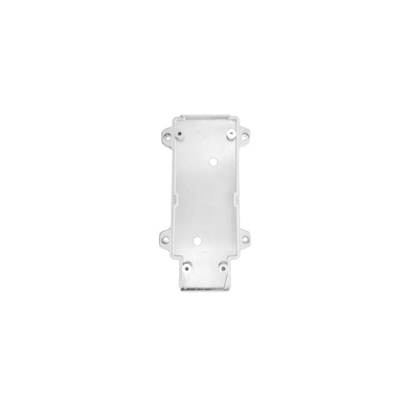 Лед трековое освещение - Настенное крепление белое, пластик, для трекового LED светильника 15W 000000886 - Фото 1