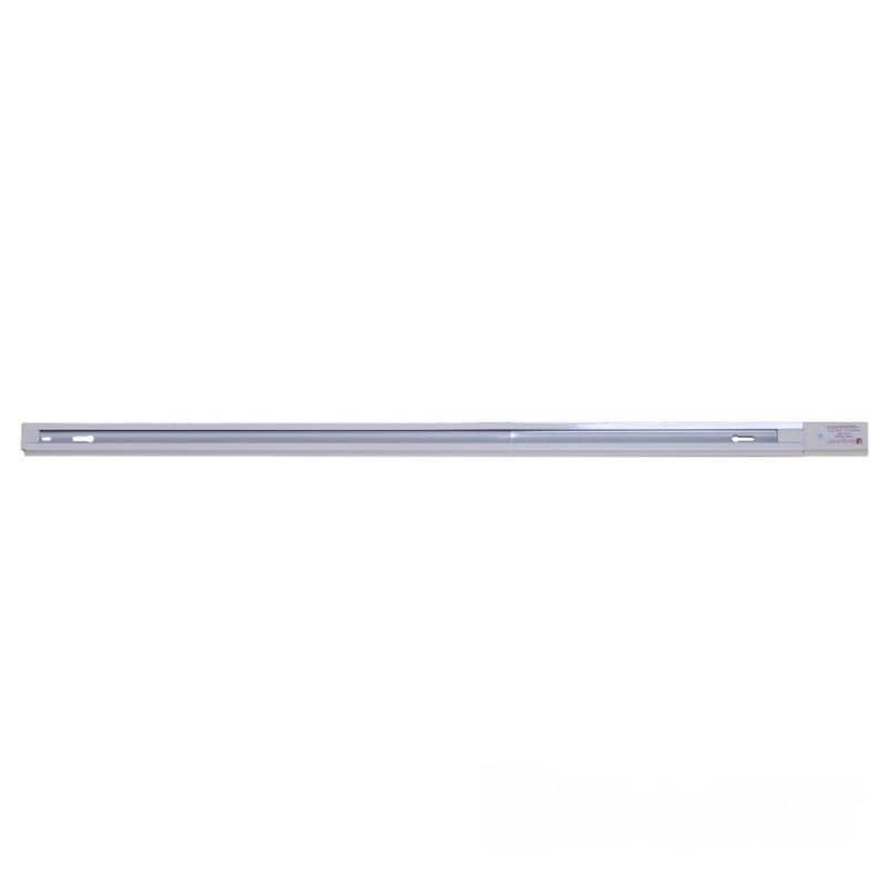 Лед трековое освещение - Рейка для трекового LED светильника 2 м белая 000000888 - Фото 1