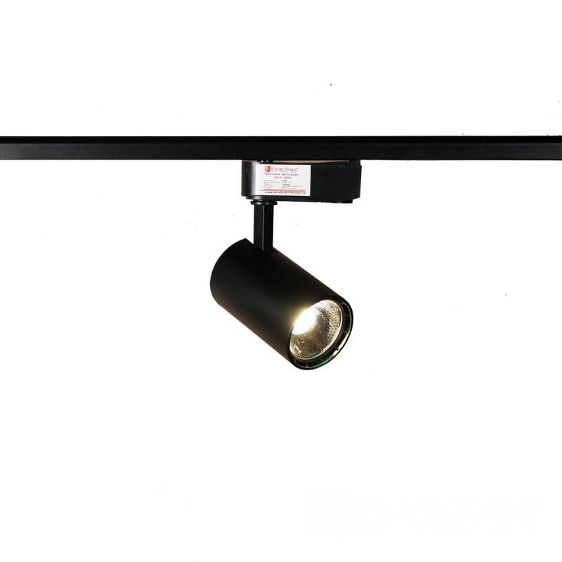 Лед трековое освещение - LED светильник трековый 15W черный 4100K 1350Lm 000000880 - Фото 1