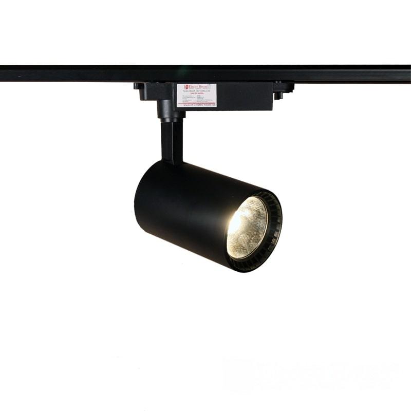 Лед трековое освещение - LED светильник трековый 20W черный 4100K 1800Lm 000000881 - Фото 1