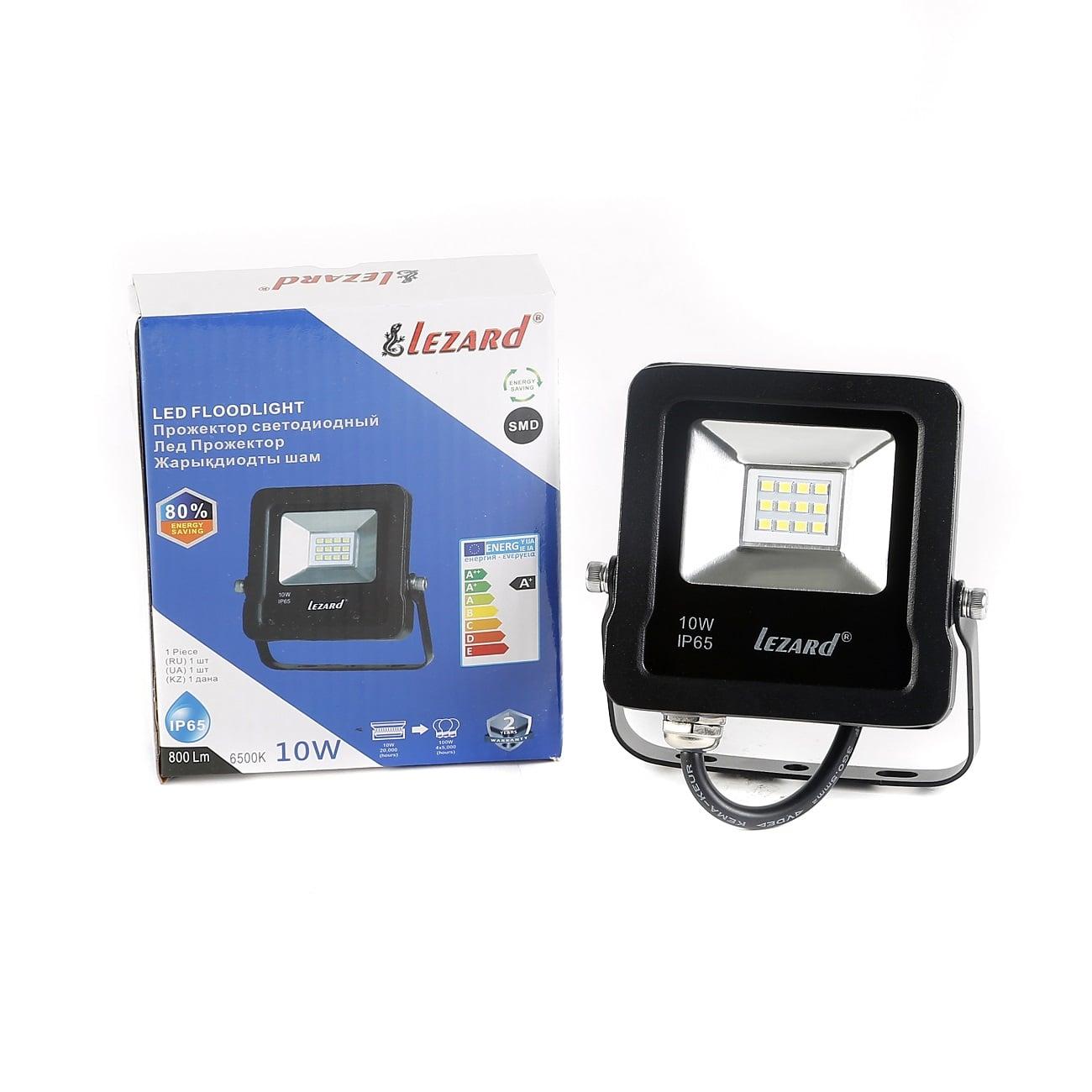 Светодиодное освещение - Прожектор светодиодный 10Вт Lezard 000001134 - Фото 1