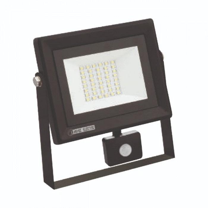 Светодиодное освещение - Прожектор светодиодный с датчиком PARS/S-30 30W 6400K 000001008 - Фото 1