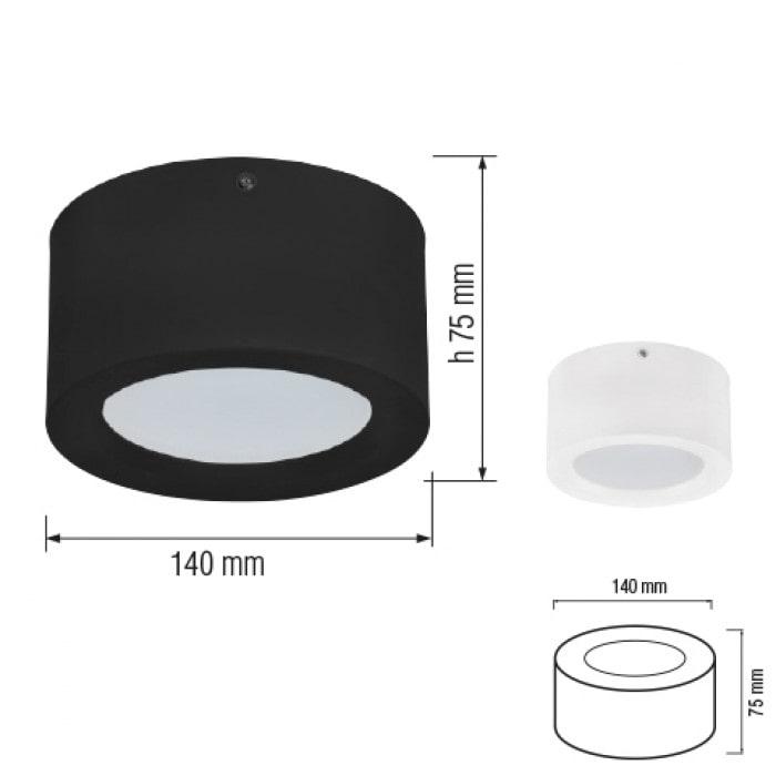 Даунлайты - Светодиодный светильник SANDRA-10 10W  белый 000001161 - Фото 2