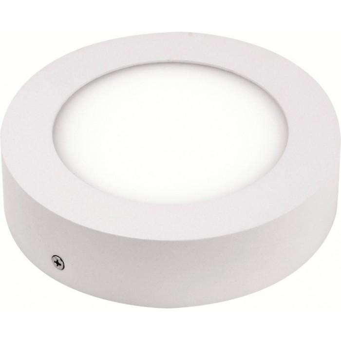 Даунлайты - Светильник круг накладной HOROZ 12W 4200К 000001097 - Фото 1