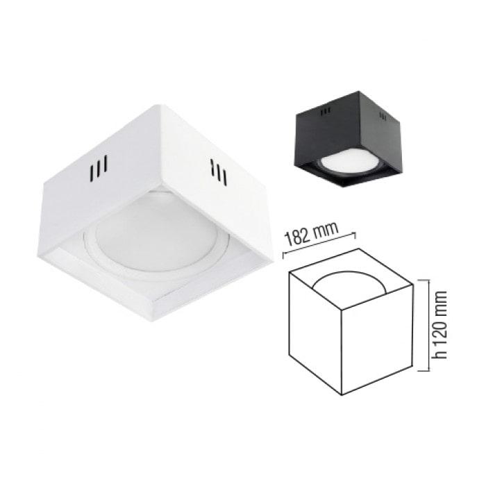 Даунлайты - Светодиодный светильник SANDRA-SQ15  белый 000001175 - Фото 2