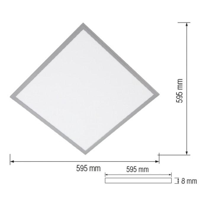 Светодиодное освещение - LED панель Galaksi-70 70W 6400K 000000992 - Фото 2