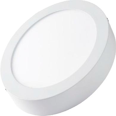 Даунлайты - Светильник даунлайт накладной 12Вт 4200K круг Lezard 000001078 - Фото 3