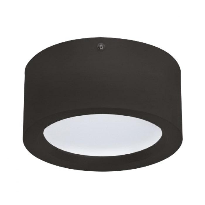 Даунлайты - Светодиодный светильник SANDRA-15 15W  черный  000001164 - Фото 1