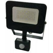 Прожектор светодиодный c датчиком движения 10Вт IP65 5000К черный 000000733 4
