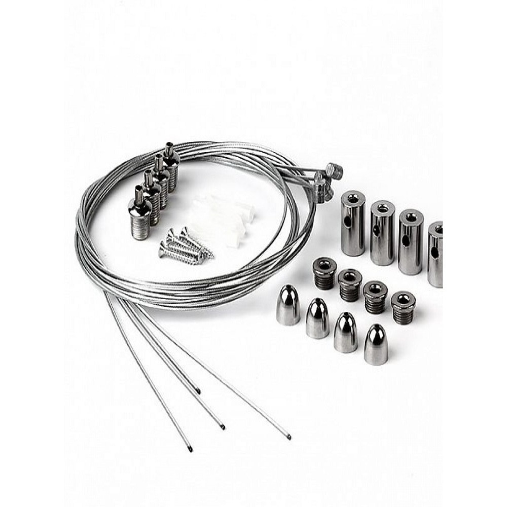 Аксессуары для LED панелей - Крепление универсальное для LED панелей (тросы) 000001157 - Фото 1