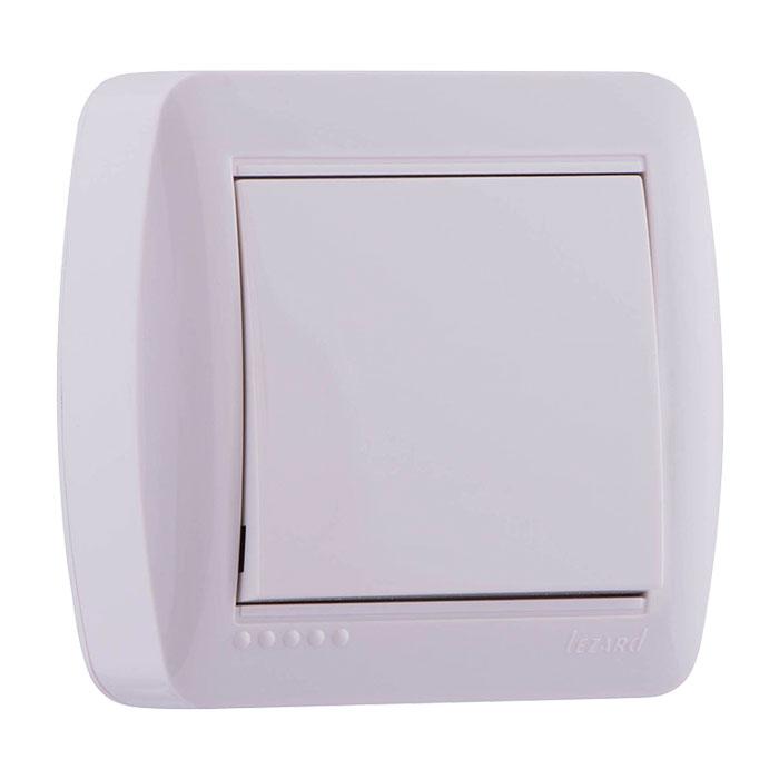 Розетки і вимикачі - Выключатель одинарный Lezard серия Demet 000000745 - Фото 1