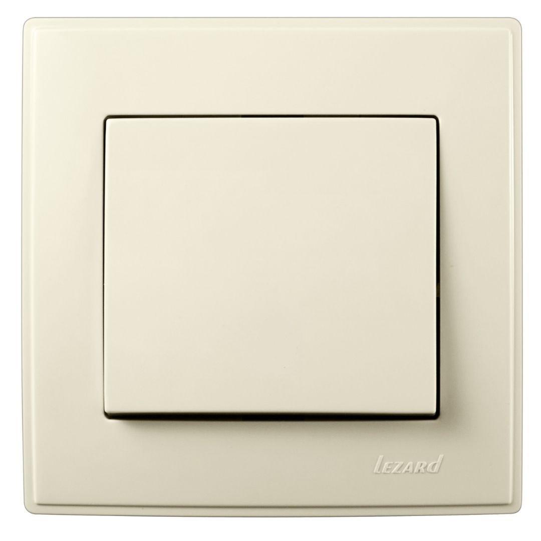 Розетки і вимикачі - Выключатель одинарный Lezard серия Lesya 000001602 - Фото 1