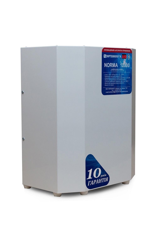 Для дома - Стабилизатор напряжения 12 кВт NORMA 000001377 - Фото 3