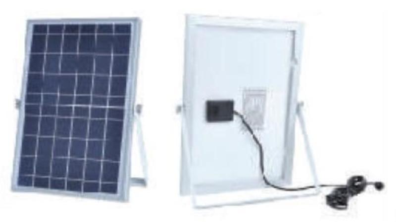 на столбы - LED прожектор на солнечной батарее VARGO 25W 6500К  000000565 - Фото 2