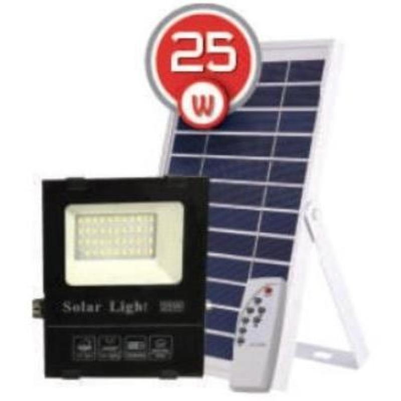 на столбы - LED прожектор на солнечной батарее VARGO 25W 6500К  000000565 - Фото 1