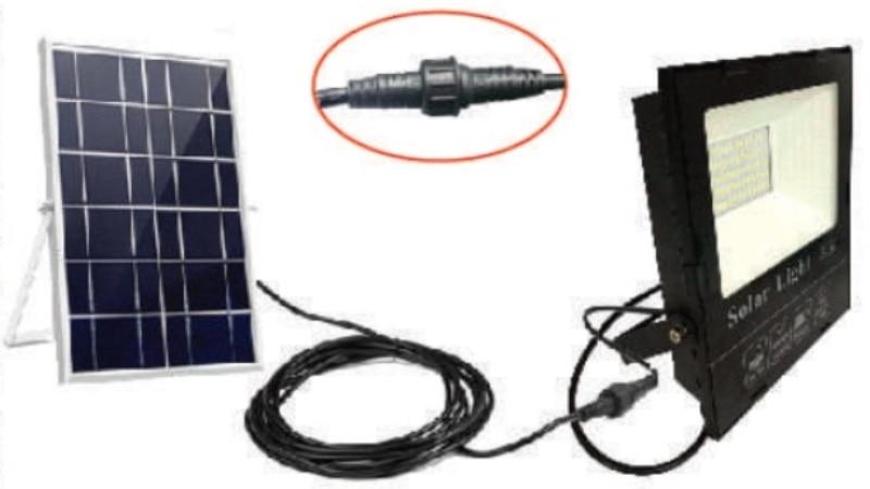 на столбы - LED прожектор на солнечной батарее VARGO 40W 6500К  000000564 - Фото 2