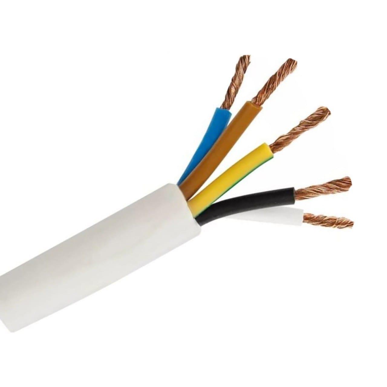 Кабель и провод - Провод соединительный ПВС 5х2,5  000001313 - Фото 1