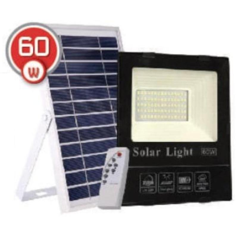 на столбы - LED прожектор на солнечной батарее VARGO 60W 6500К  000000563 - Фото 1
