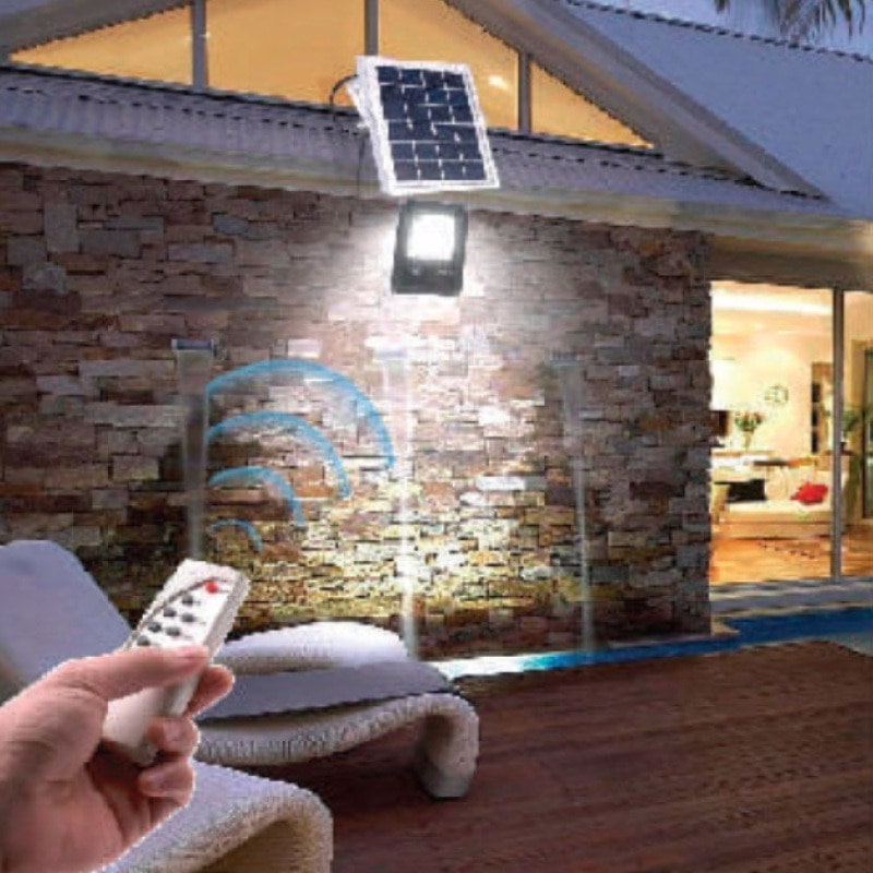 на столбы - LED прожектор на солнечной батарее VARGO 40W 6500К  000000564 - Фото 3