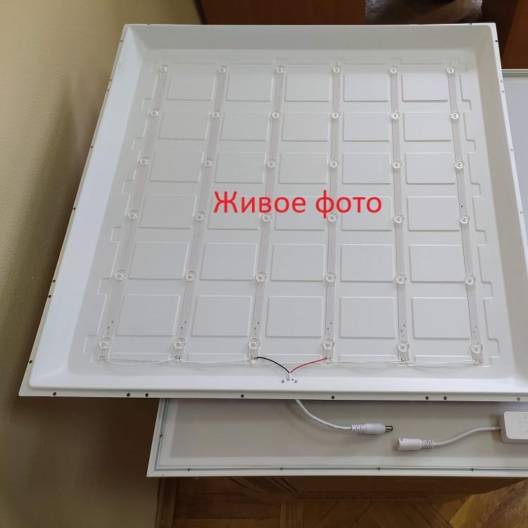 Светодиодное освещение - Светильник LED Panel GLX  ДВО-19 36W 6500К 3200Lm 000002227 - Фото 3