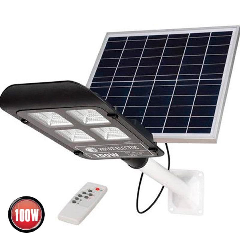 на столбы - Уличный фонарь на солнечной батарее Laguna 100Вт 000001359 - Фото 1