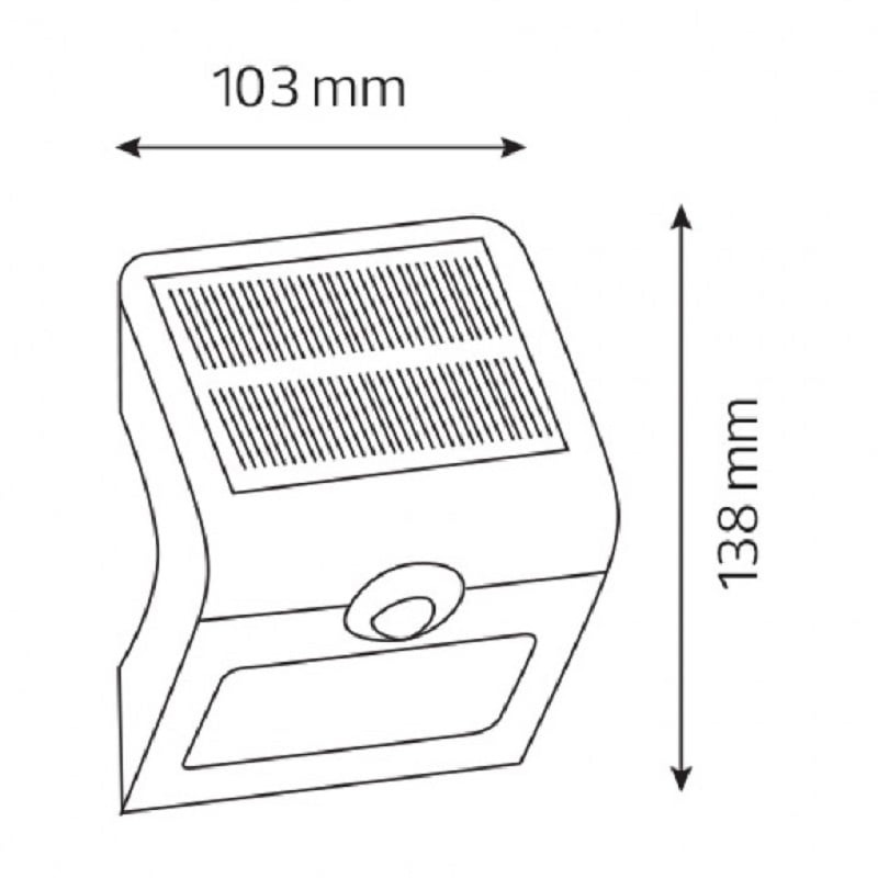 для сада и дачи - Садовые фонари на солнечных батареях Сириус-1 000001566 - Фото 2