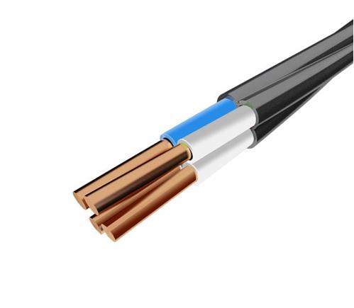 Кабель и провод - Провод соединительный ПВС 4х6 000001306 черный - Фото 1