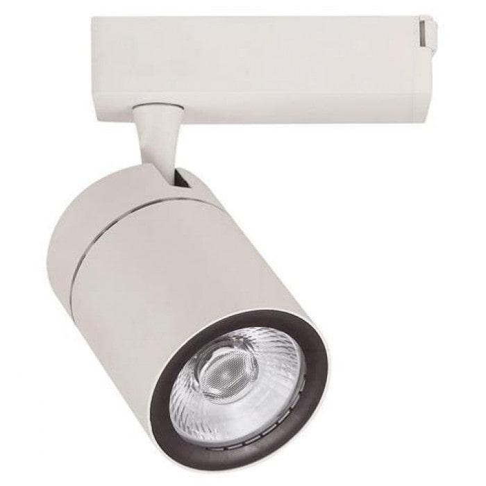 Лед трековое освещение - Светильник трековый COB LED 35W 4200K белый DUBLIN 000001429 - Фото 1