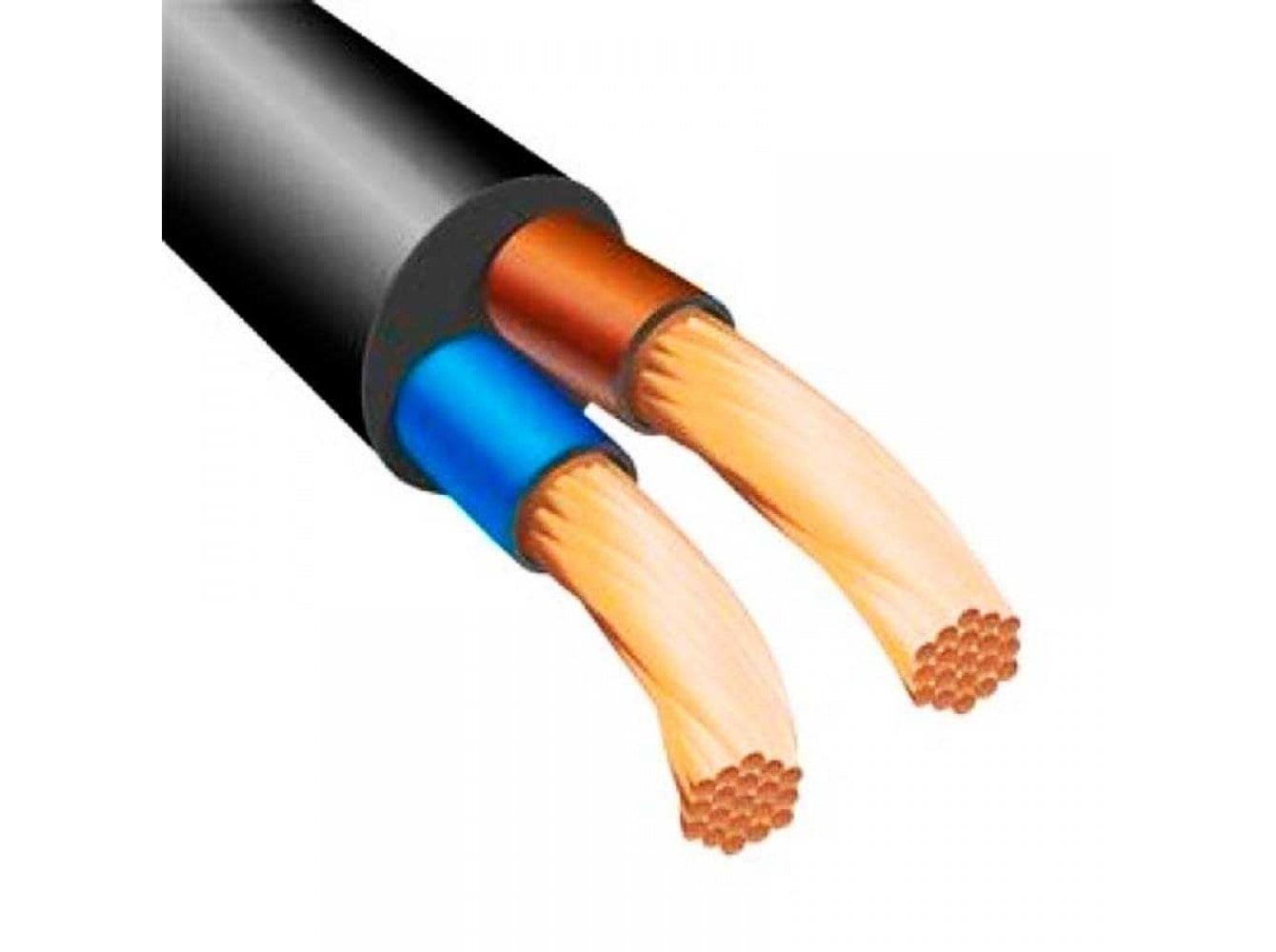 Кабель и провод - Провод соединительный ПВС 2х0,75 000001272 черный - Фото 1
